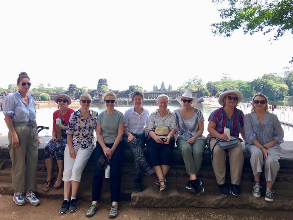 Siem Reap travellers