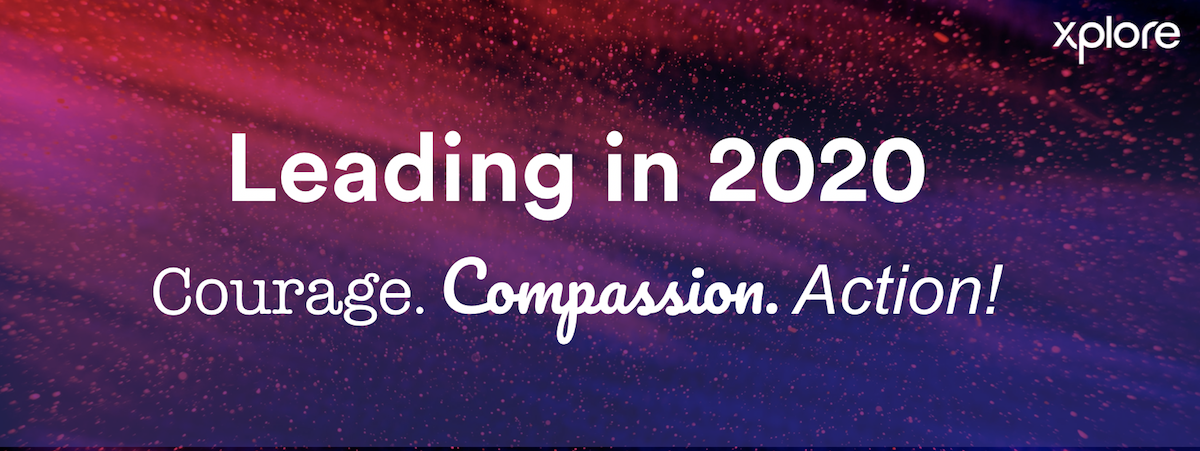 Leading in 2020 banner